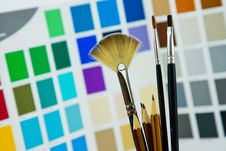 Free Palette Royalty Free Stock Photography - 7854207
