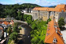 Free Castle Cesky Krumlov, Czech Republic Royalty Free Stock Image - 7854436