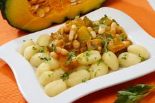 Free Pumpkin Goulash With Beans Royalty Free Stock Photography - 7854727
