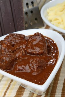 Free Spicy Meat Goulash Royalty Free Stock Photo - 7854815