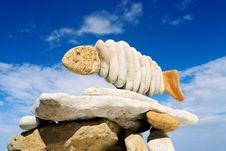 Free Stone Fish Stock Photography - 7855092