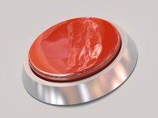 Free 3d Isolated Red Button Stock Photos - 7855133