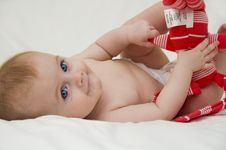 Free Baby Girl Stock Photography - 7856162