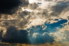 Free Cloudscape Royalty Free Stock Image - 7856276