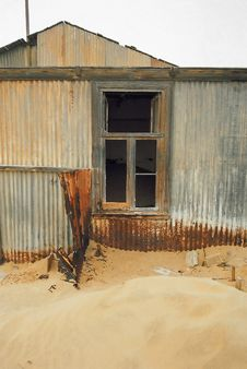 Deserted House Stock Photo
