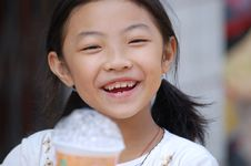 Free A Happy Little Girl Stock Photos - 7856653