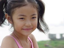 Free A  Smile Girl Royalty Free Stock Image - 7856796