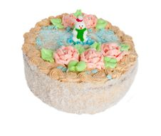 Free Cream Cake Royalty Free Stock Photo - 7856885