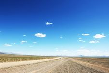 Free Mongolian Highway Royalty Free Stock Photography - 7857127
