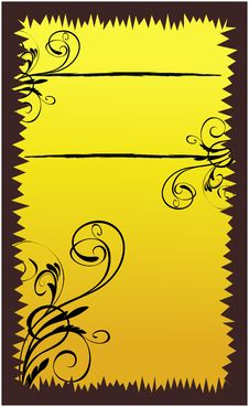 Free Floral Banner Royalty Free Stock Photography - 7857457