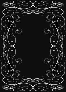 Free Abstract Floral Frame Stock Photo - 7857750