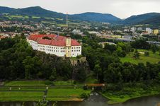 Decin Castle, Czech Republic Royalty Free Stock Image