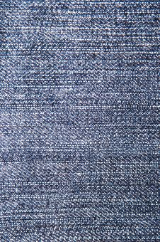 Free Close Up On Denim Cloth Royalty Free Stock Photo - 7858415