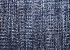 Free Close Up On Denim Cloth Royalty Free Stock Image - 7858436
