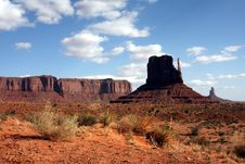 Free Monument Valley Royalty Free Stock Photography - 7858637