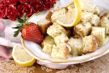 Free Lemon Poppy Seed Dessert Stock Photo - 7858700