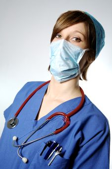 Free Nurse Or Doctor Royalty Free Stock Images - 7858759