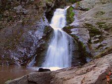 Free Waterfall In The Dark Wood Royalty Free Stock Photo - 7859655
