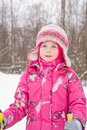 Free Girl On Cross-country Ski Royalty Free Stock Photography - 7867517
