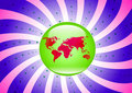 Free Globe Background Stock Photography - 7867762