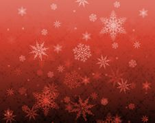 Star And Snowflake Pattern Royalty Free Stock Image