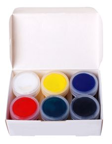 Free Multicolored Paints Stock Image - 7860931