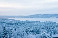 Free Winter Valley Stock Photos - 7861163