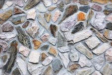 Free Rough Stone Wall Stock Photography - 7861202
