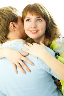 Free Happy Young Couple Royalty Free Stock Photography - 7861267