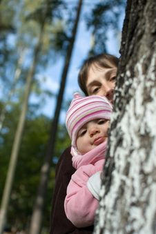 Free Baby With Mom Stock Photography - 7861552