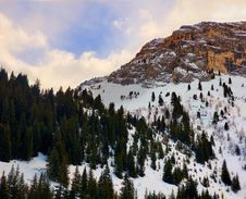 Free Mountain In Courchevel Royalty Free Stock Images - 7861699