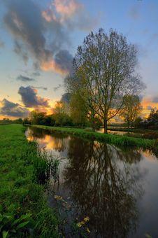 Free Reflections Near Delftse Hout Stock Image - 7862051