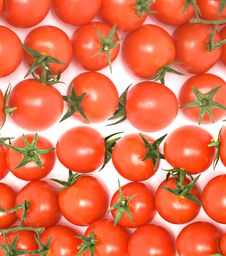 Free Closeup Of Cherry Tomatoes Royalty Free Stock Photos - 7862138