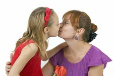 Free Mothers With The Little Daughter Royalty Free Stock Photography - 7862437