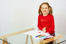 Free Child S Drawing Stock Photography - 7862742