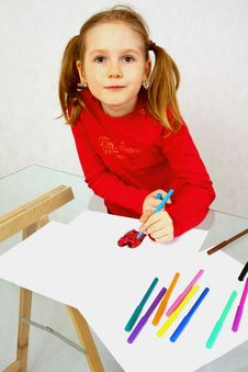Free Child S Drawing Stock Photos - 7862923