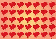 Free Heart Background Stock Photography - 7862982