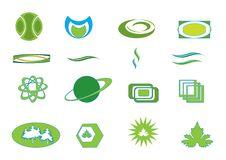 Free Set Green Icons Stock Photos - 7863073