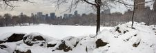 Free Lake After Snow Storm Royalty Free Stock Images - 7863279