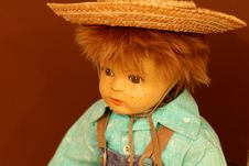 Free Boy Doll Face Royalty Free Stock Photos - 7863478
