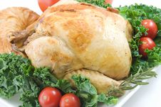 Free Roasted Chicken Royalty Free Stock Photos - 7863768