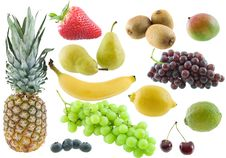 Free Fruit Collage Stock Photo - 7863800