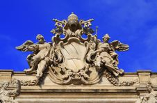 Free Trevi Fountain Royalty Free Stock Photography - 7864067
