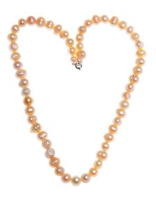 Free Heart Shaped Pearl Neckless Stock Photos - 7864273