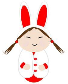 Free Love Bunny Royalty Free Stock Photography - 7864317