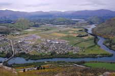 Free Town Airview Royalty Free Stock Photography - 7865107