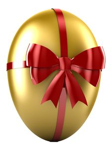 Free Golden Egg Stock Photography - 7866252