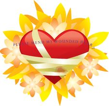 Free Please Mend My Wounded Heart Stock Photography - 7866312