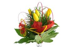 Free Yellow Tulips Bouquet Stock Photos - 7868423