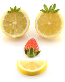 Free Lemon And Face Royalty Free Stock Photography - 7868577